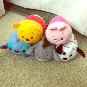 6 Disney Tsum-Tsums!